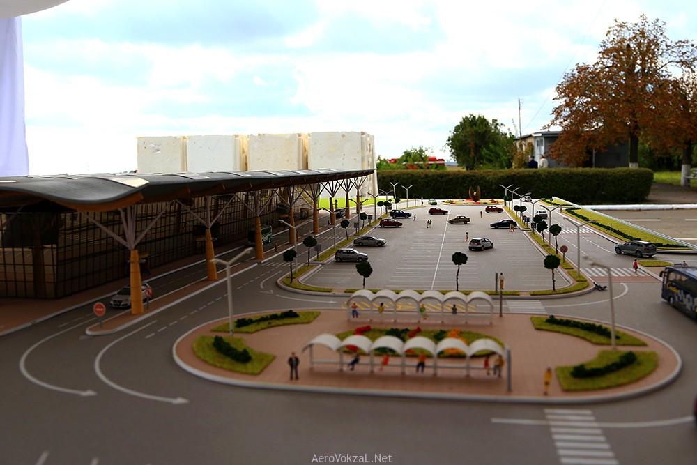 макет терминала